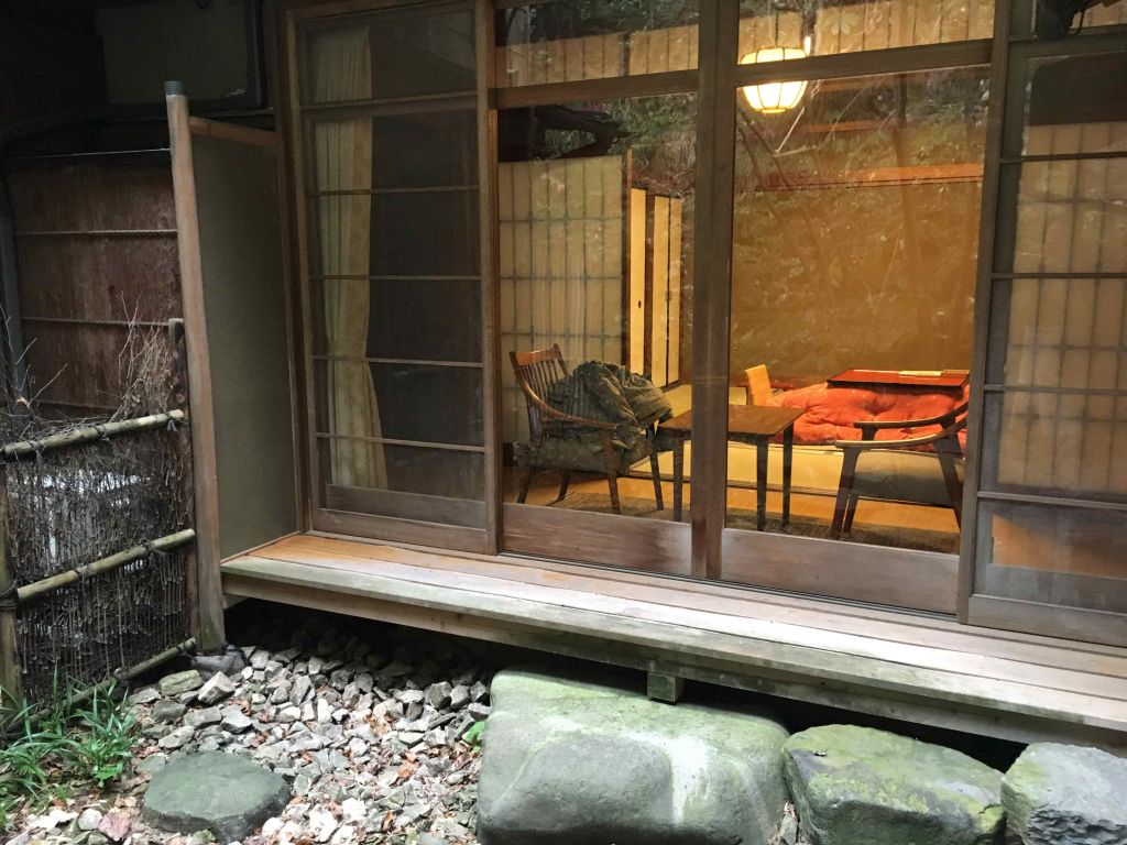 Onsen ryokan japanese type of hotel with private hot - Ryokan tokyo with private bathroom ...